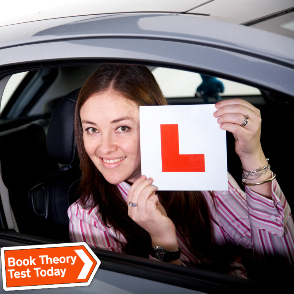 A learner driver and the latest coronavirus driving test guidance.