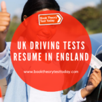UK driving test in the UK have resumed.