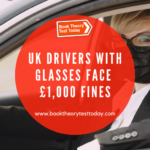 UK drivers with glasses.