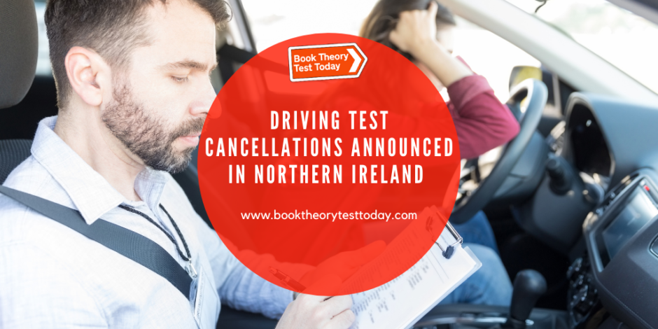 Driving Test Cancellations in Northern Ireland.